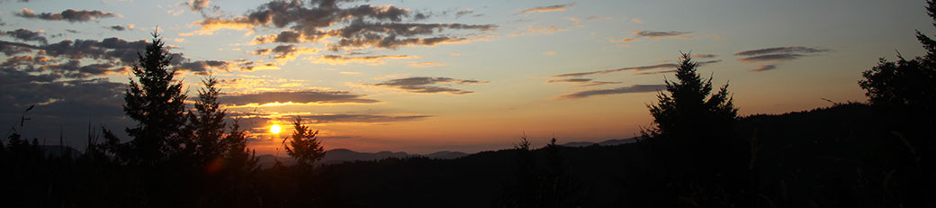 Perfect Sunrise at the Armand Heights Bed & Breakfast, Salt Spring Island